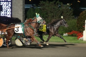 Unix Hanover (6) winning his last start before being sold.